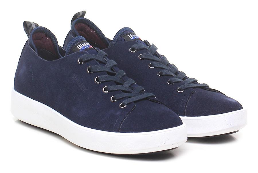 Sneaker Navy Blauer Verschleißfeste billige Schuhe