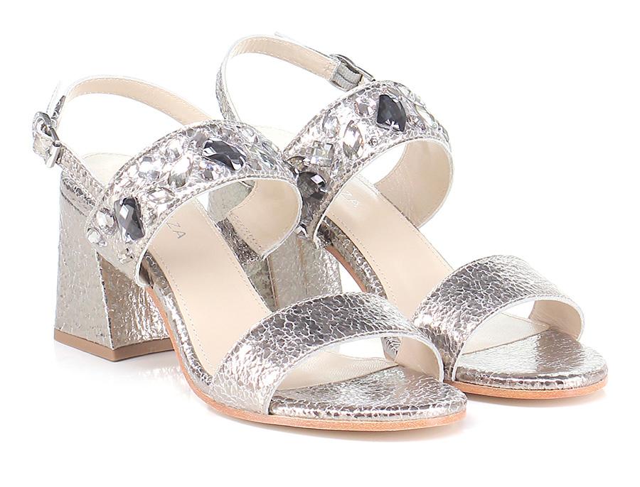 Sandalo alto  Silver Apepazza