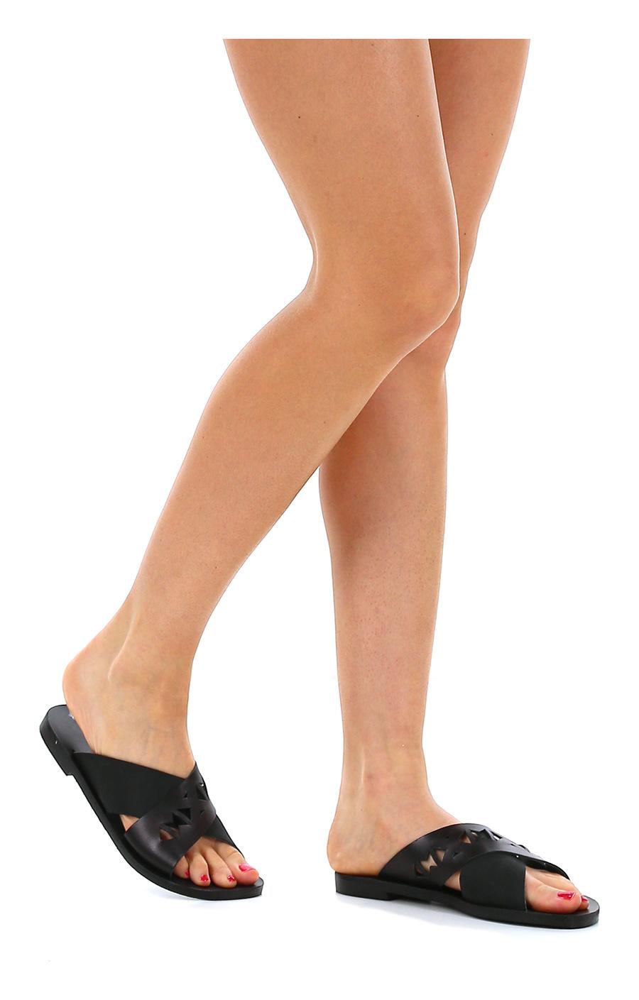 Sandalo basso Black Grecian Chick