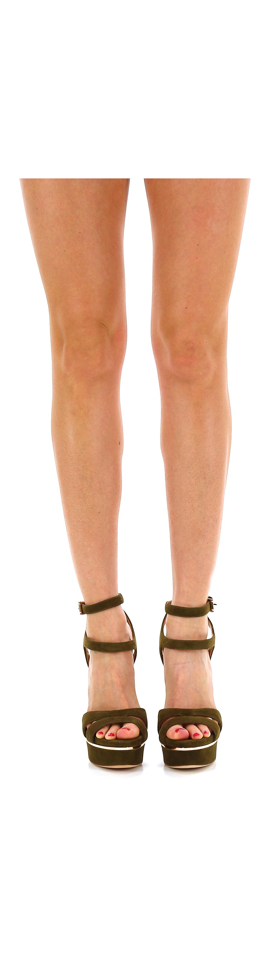 Sandalo  alto  Sandalo Militare Gianni Renzi Couture 7058d6