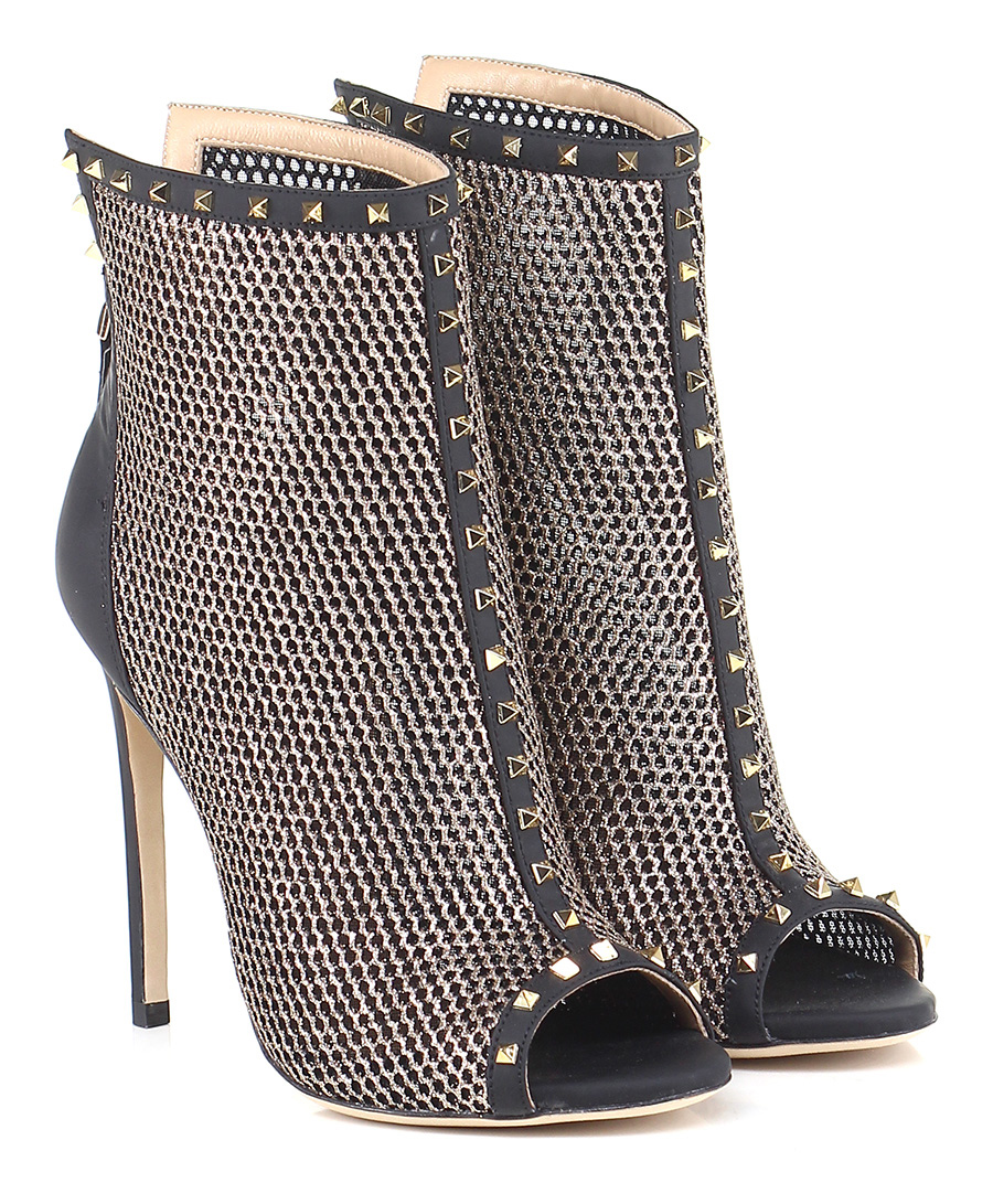 Tronchetto Oro/nero Gianni Gianni Oro/nero Renzi Couture Mode billige Schuhe b71885