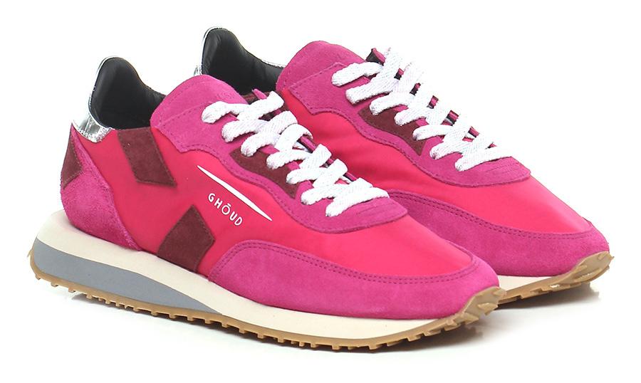 Sneaker Fuxia/silver Ghoud Rush
