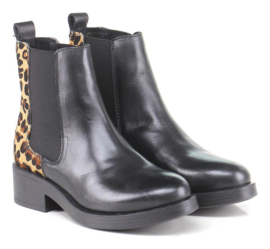 Tronchetto Black/leopard Guess