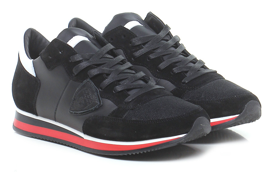 Sneaker Black/white Black/white Black/white Philippe Model Paris 00522e