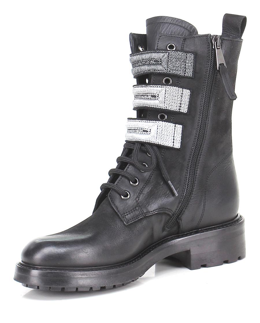 Polacco Nero/acciaio Strategia Verschleißfeste billige Schuhe