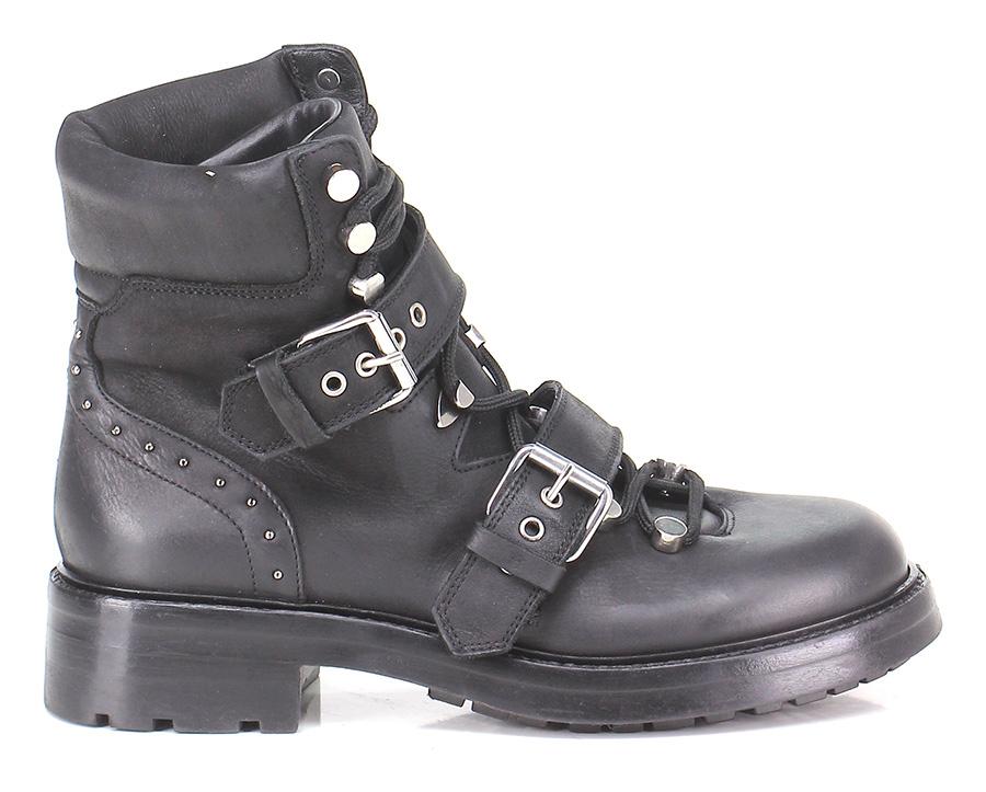 Polacco Nero Elena Iachi Verschleißfeste billige Schuhe