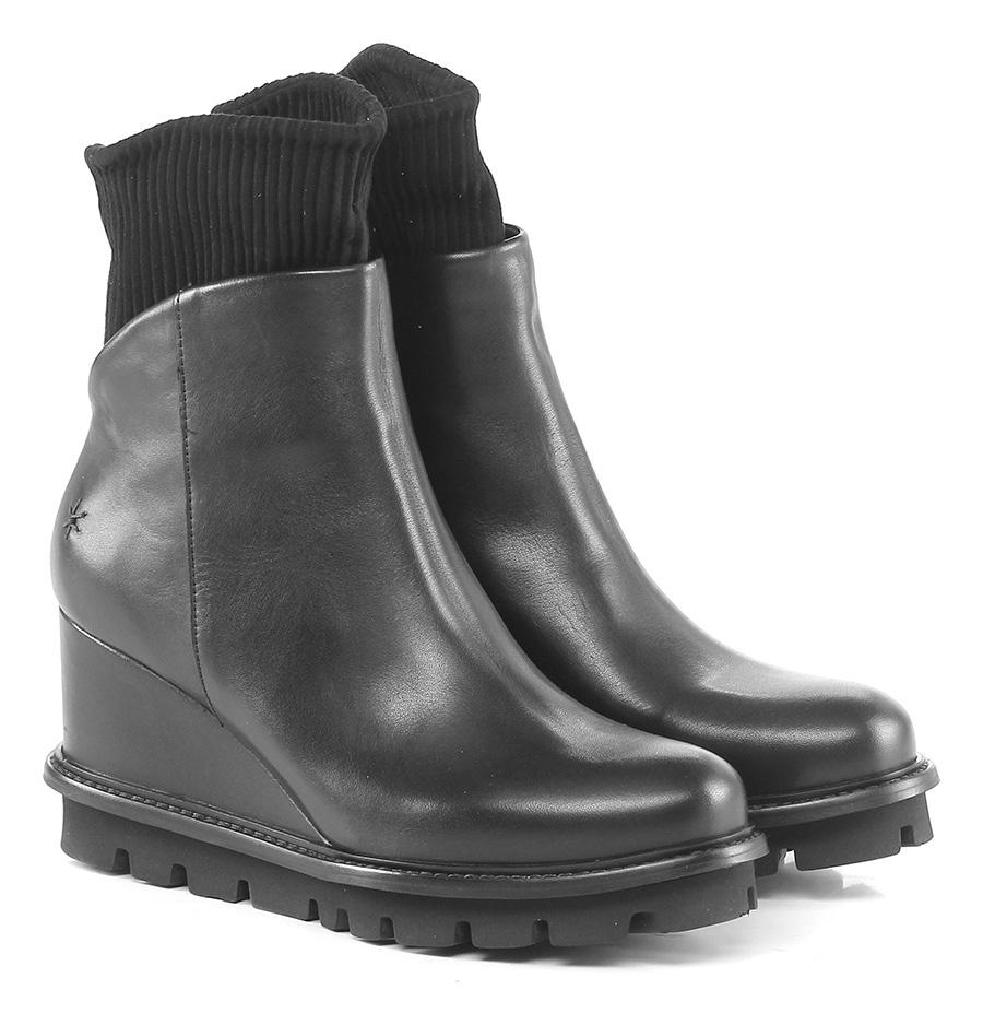 Zeppa Nero Patrizia Bonfanti Verschleißfeste billige Schuhe