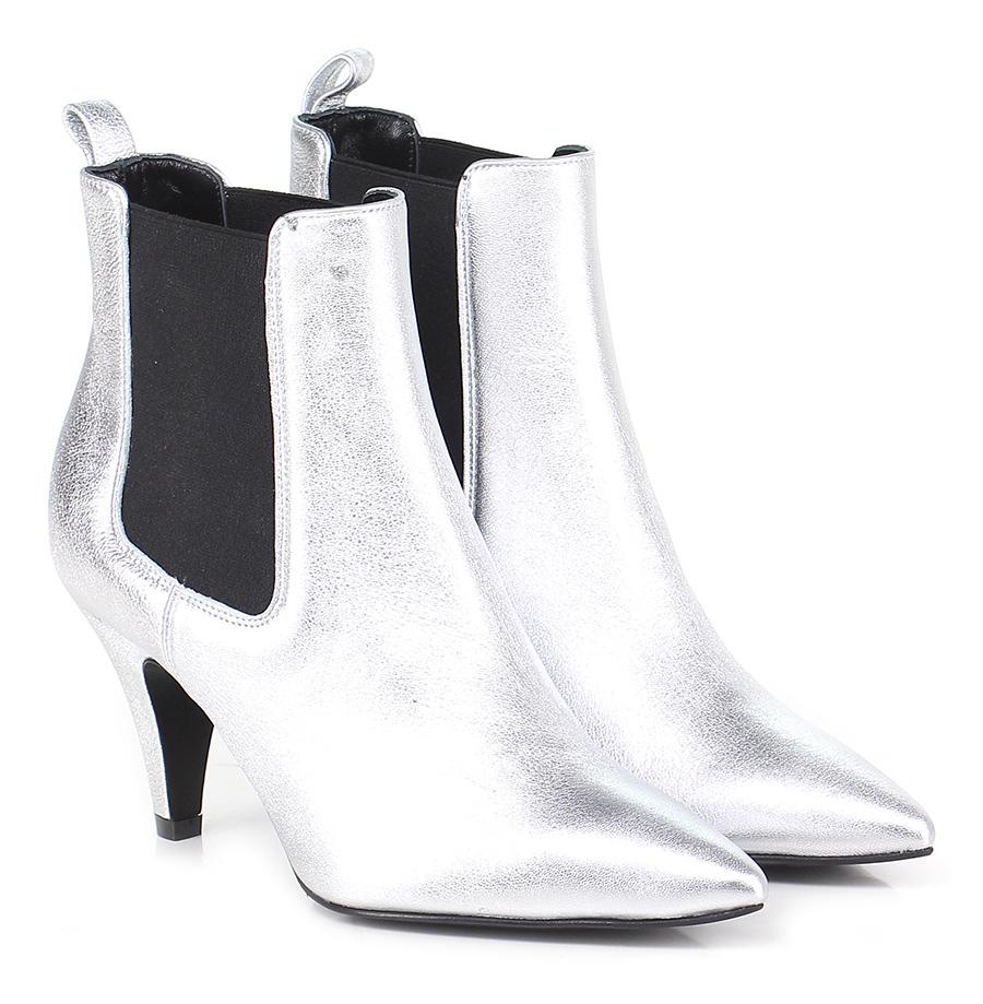 Tronchetto  Argento/nero Giampaolo Viozzi Mode billige Schuhe