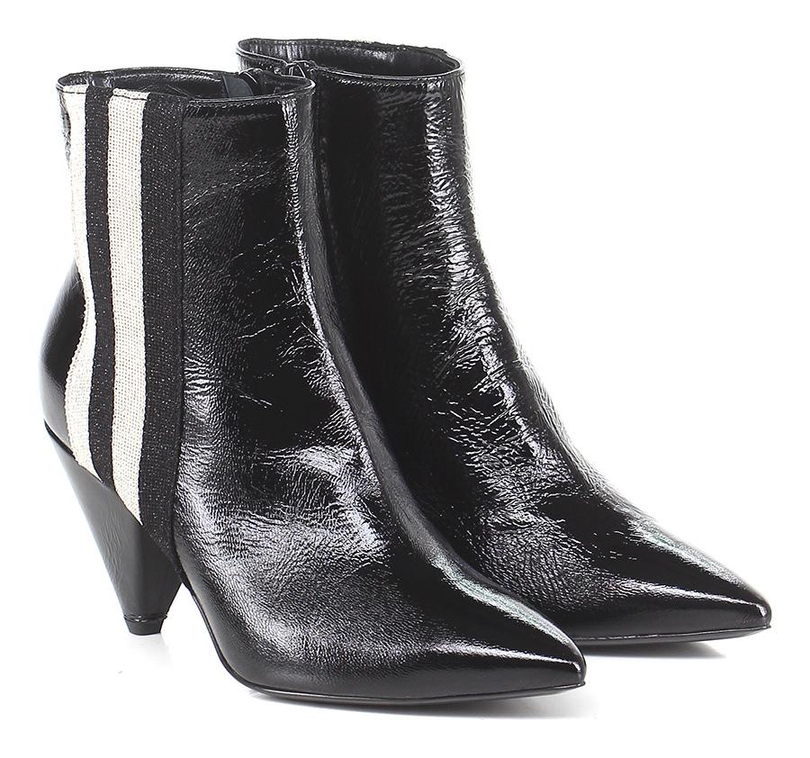 Tronchetto Nero/crema Giampaolo Viozzi Mode billige Schuhe