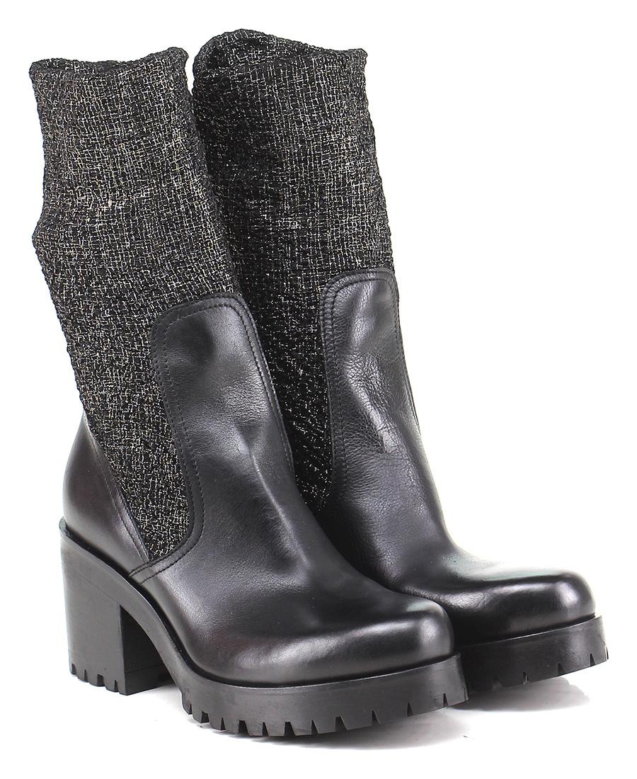 Tronchetto Nero/oro Strategia Verschleißfeste billige Schuhe