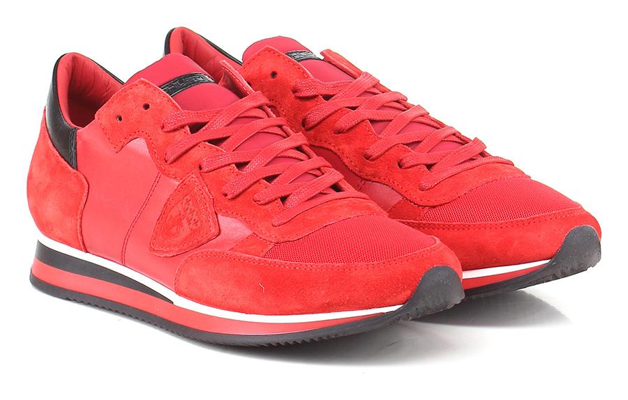 Sneaker Red/black Red/black Red/black Philippe Model Paris 0f8515