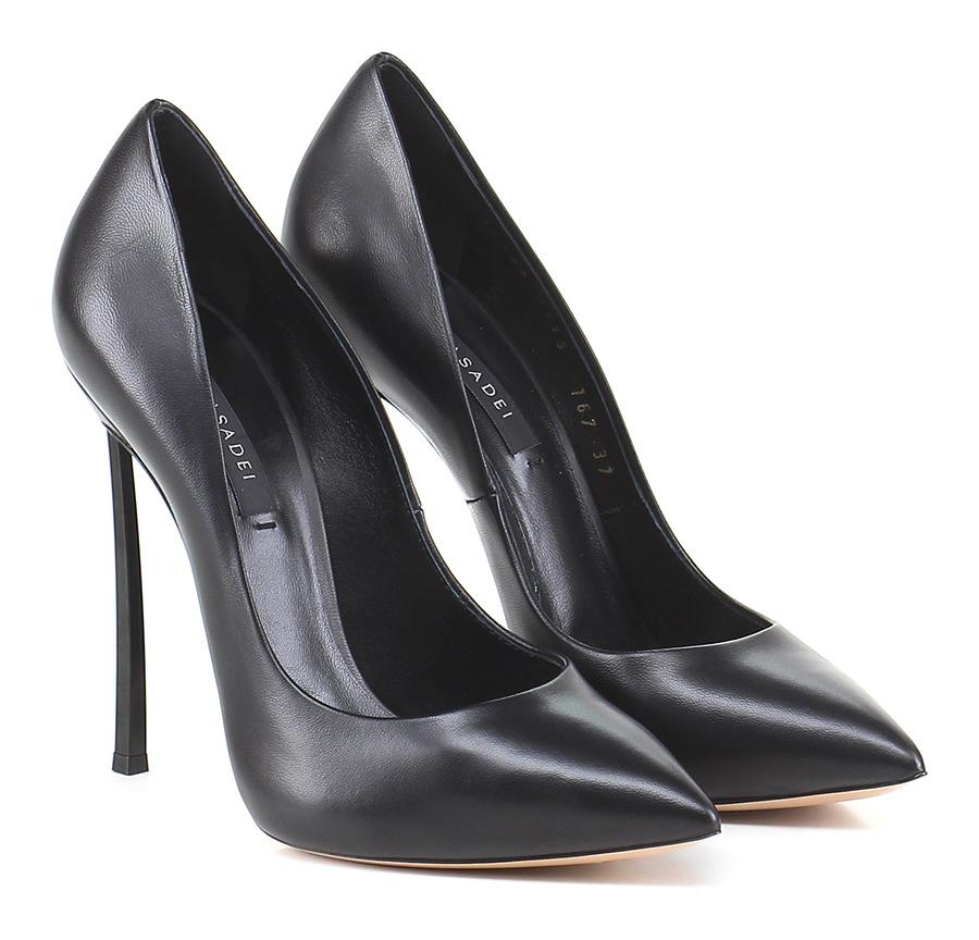 Decolletè Nero Casadei Verschleißfeste billige Schuhe