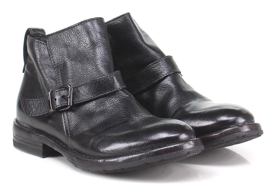 Scarpa bassa Nero Moma Verschleißfeste billige Schuhe