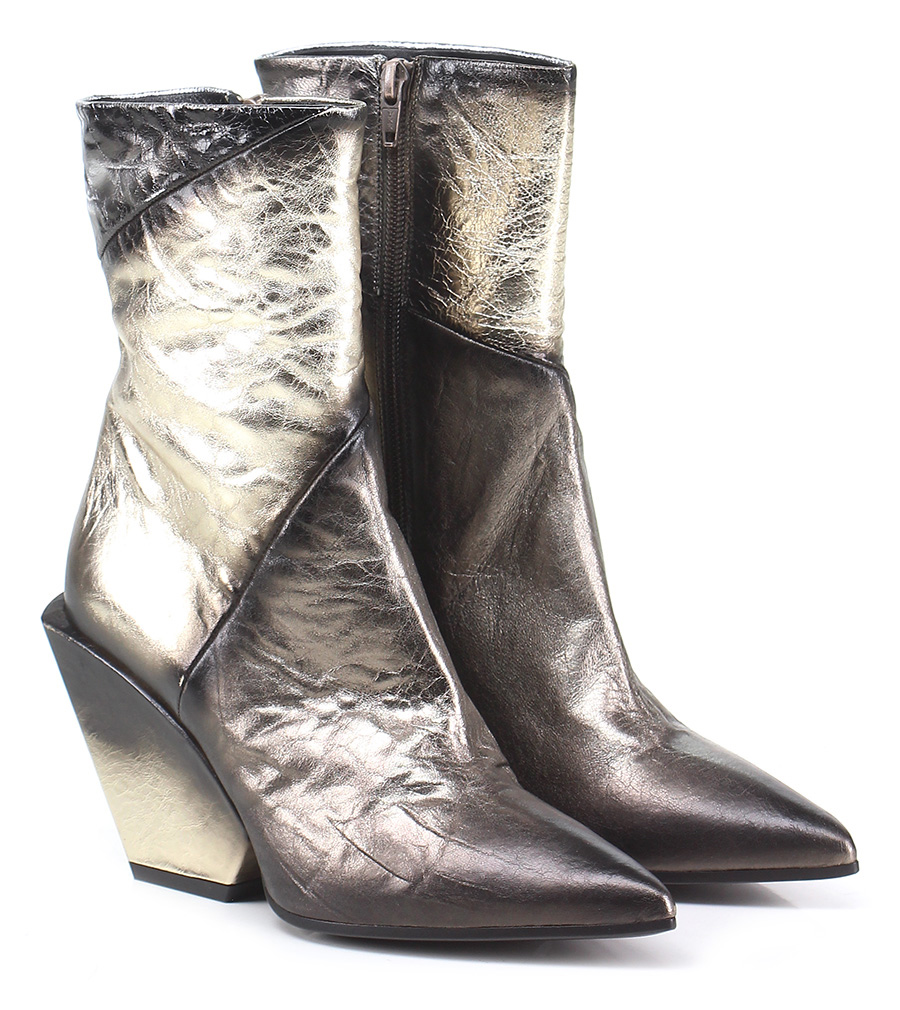 Tronchetto Platino\sabbia\argento Elena Iachi Verschleißfeste billige Schuhe