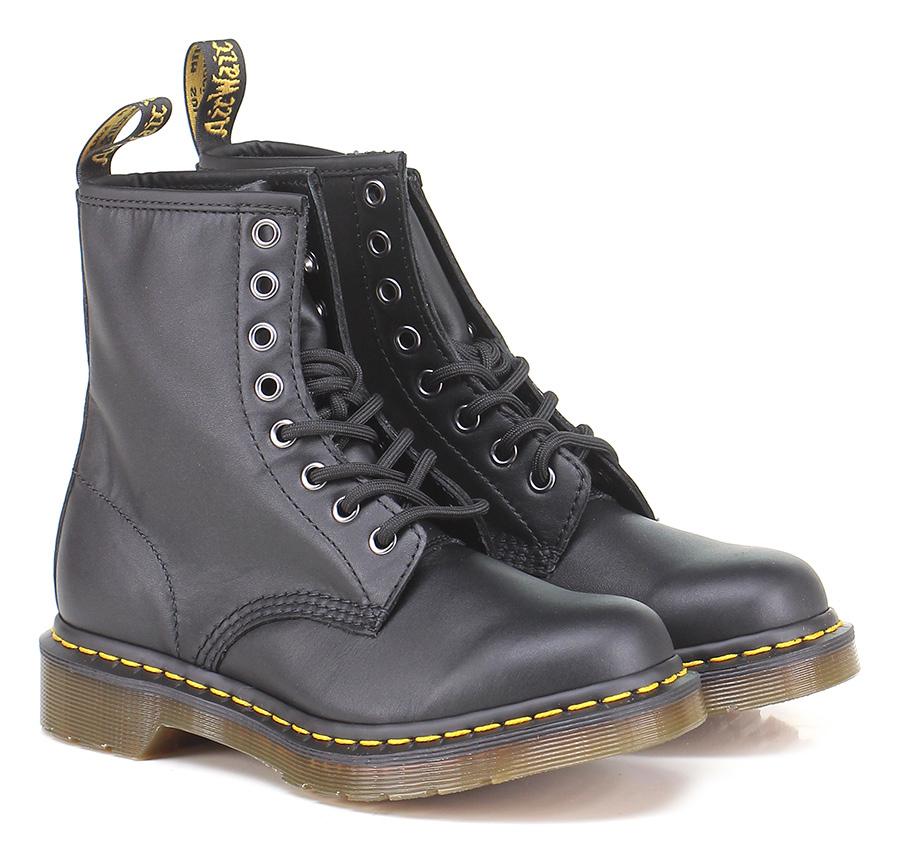 Polacco Black Dr. Martens Mode billige Schuhe