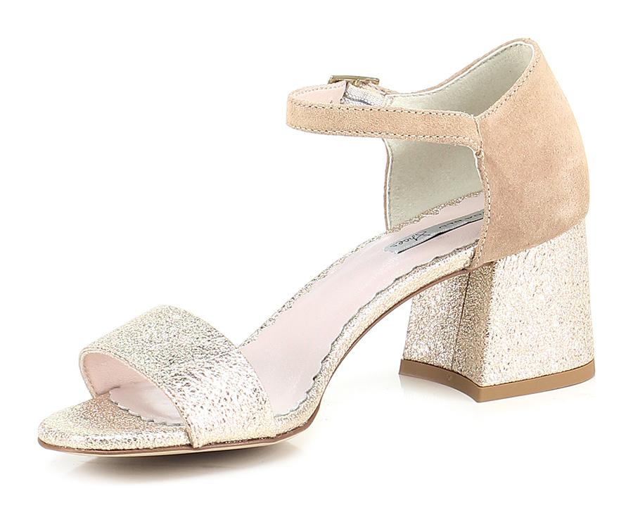Sandalo  alto  Sandalo Platino\sabbia Tosca Blu Shoes 22f966