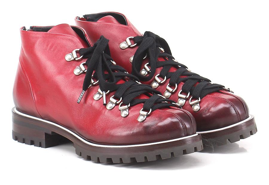 Scarpa bassa Rosso Halmanera Verschleißfeste billige Schuhe