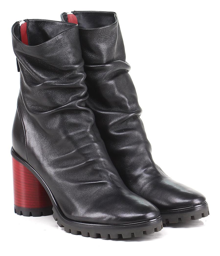 Tronchetto Nero Halmanera Verschleißfeste billige Schuhe