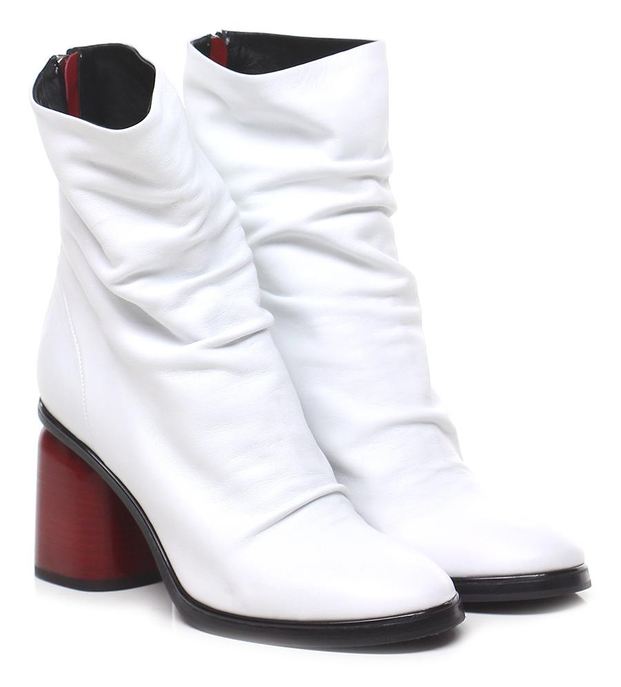 Tronchetto Halmanera Bianco Halmanera Tronchetto Mode billige Schuhe a97208