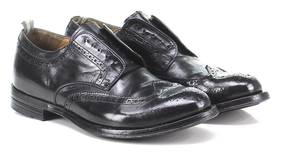 Senza stringhe Nero Schuhe Officine Creative Mode billige Schuhe Nero 6eefb3