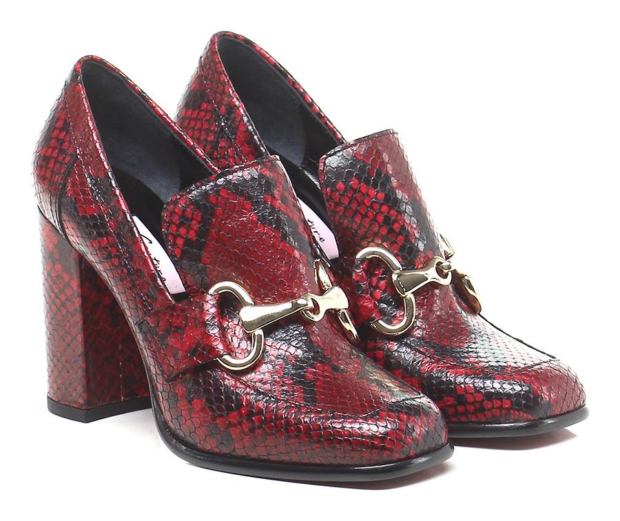 Scarpa con tacco Rosso\nero Couture Schuhe Mode billige Schuhe Couture d74b99