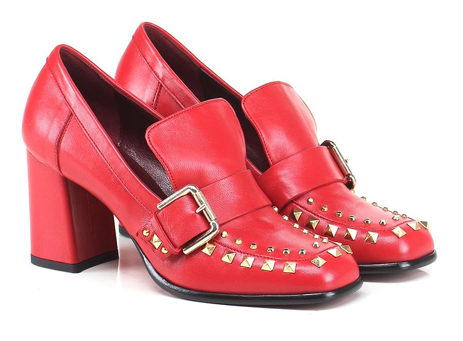 Scarpa con con con tacco Rosso Couture 655db5