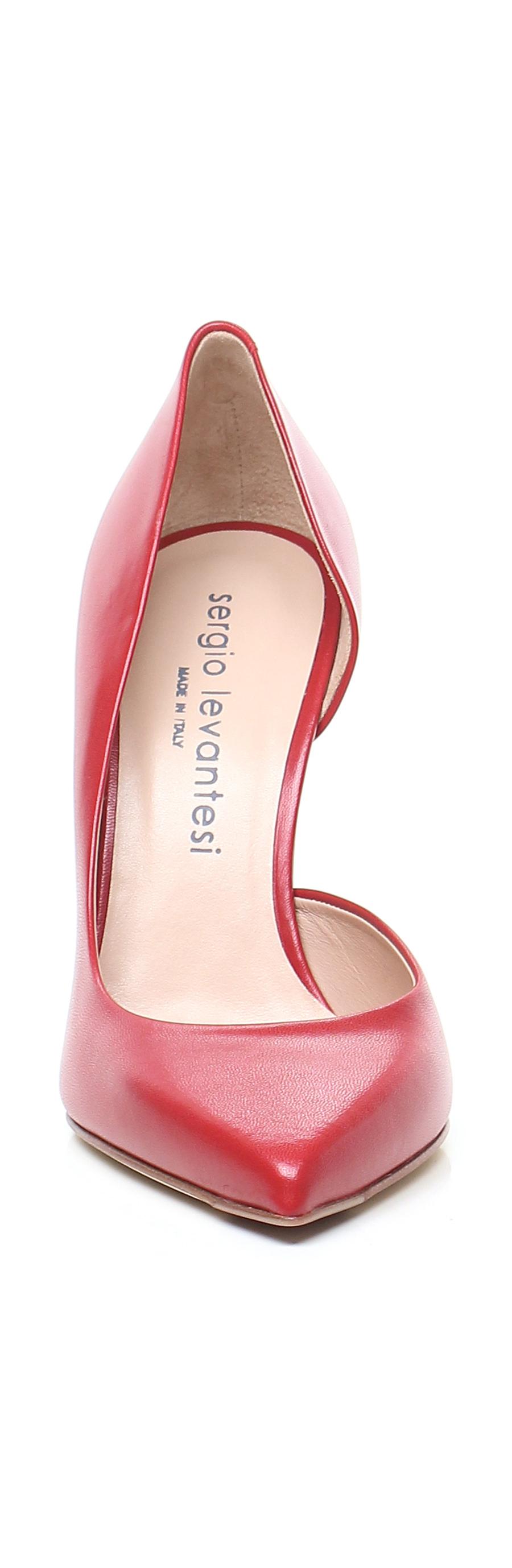 Scarpa Scarpa Scarpa con tacco Rubino Sergio Levantesi 73a2b1