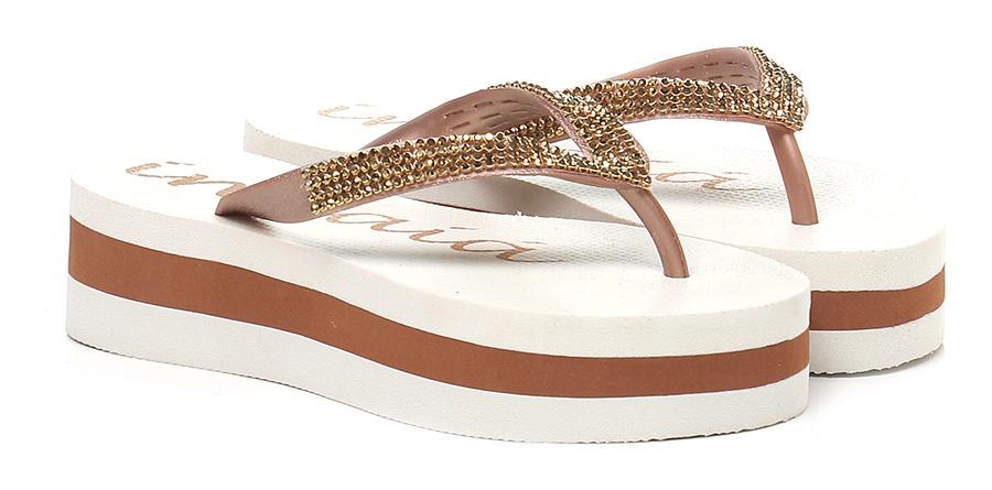 Sandalo basso Bronzo\oro Indaia Scarpe economiche e buone