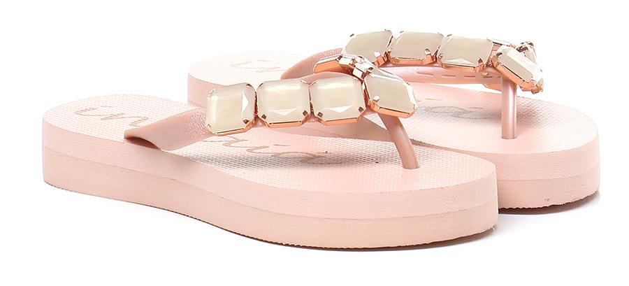Sandalo basso Rosa Indaia Mode billige Schuhe