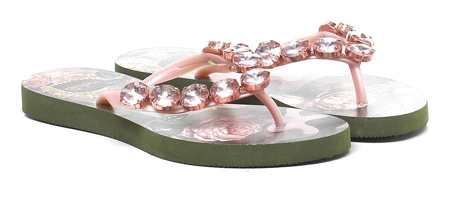 Sandalo basso Rosa\mimetico Indaia Mode billige Schuhe