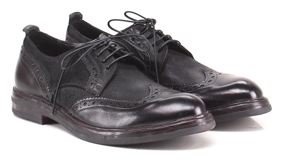 Stringata Nero Moma Verschleißfeste billige Schuhe
