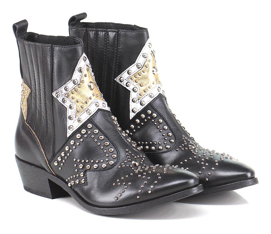 Tronchetto Black/gold/white Strategia Verschleißfeste billige Schuhe