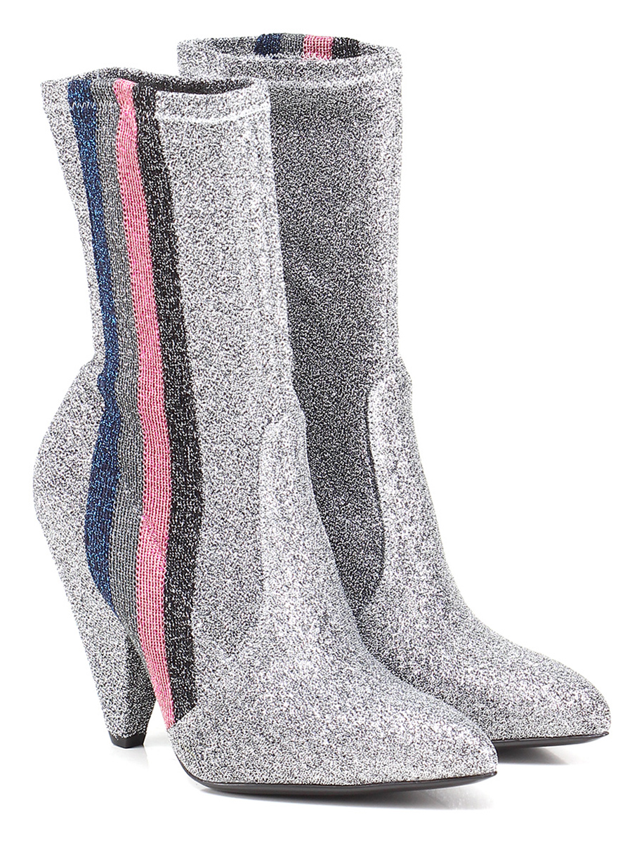Tronchetto Argento/rosa Giampaolo Viozzi Verschleißfeste billige Schuhe