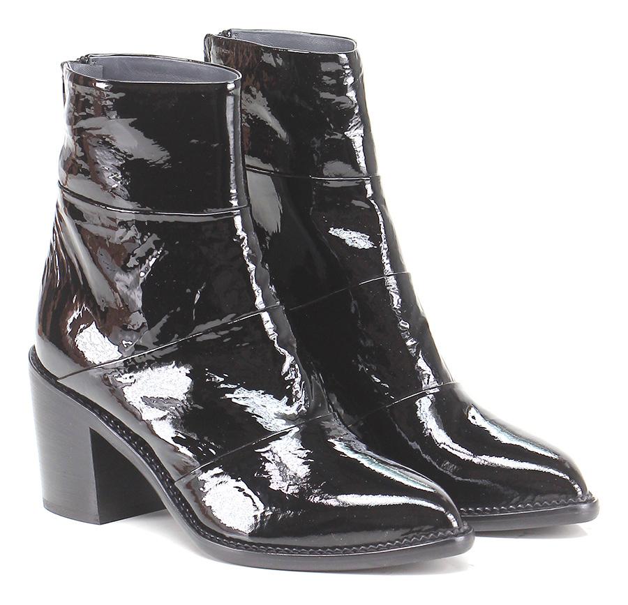 Tronchetto Nero Fiori Francesi Verschleißfeste billige Schuhe