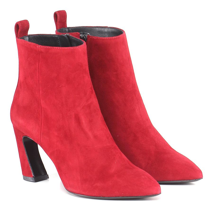 Tronchetto Rosso Marc Ellis Verschleißfeste billige Schuhe