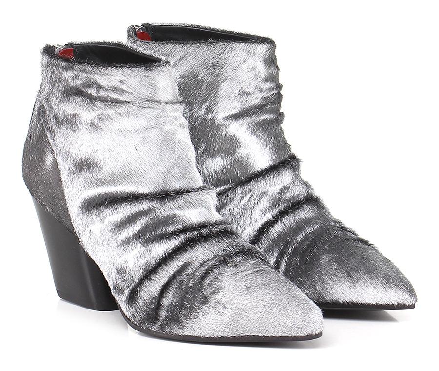 Tronchetto Argento Halmanera Mode billige Schuhe
