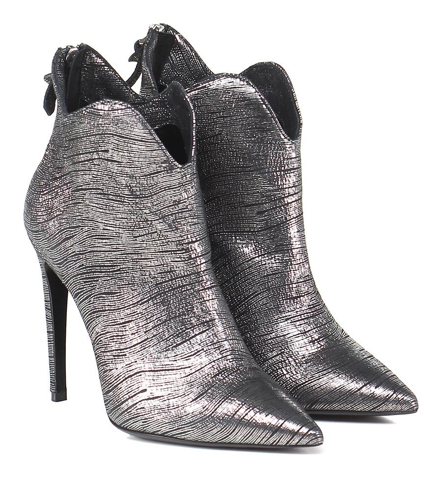 Tronchetto Acciaio Gisele Paris Verschleißfeste billige Schuhe