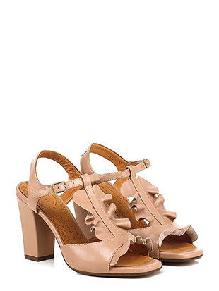 new style 15121 6ceba Shoes High sandal CHIE MIHARA CARNE Women CHAMPAN3 - Le ...