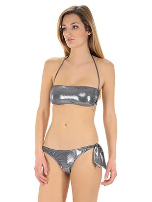 Bikini fascia alba dot twin antracite