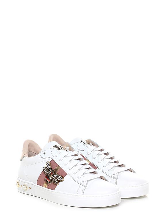 3c3e1509a1 Sneaker Bianco/cipria/rame Stokton - Le Follie Shop