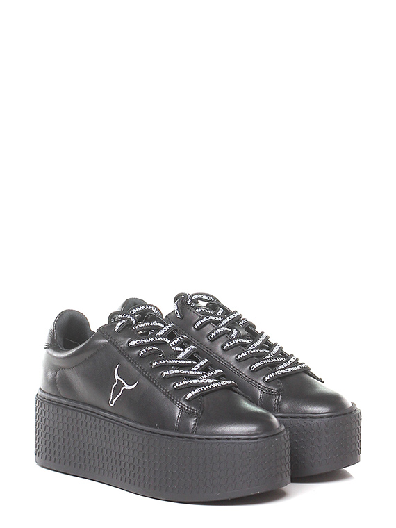 Sneaker Black Windsor Smith - Le Follie