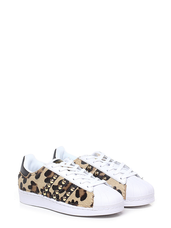 Sneaker Whitesilver Adidas Customized Le Follie Shop