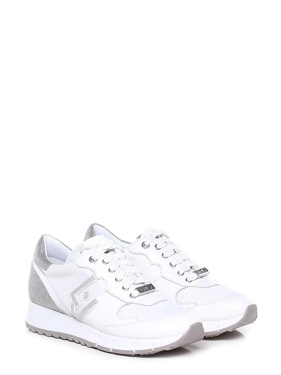 salvare 70e59 41f6c Sneaker Bianco/argento Liu.jo - Le Follie Shop