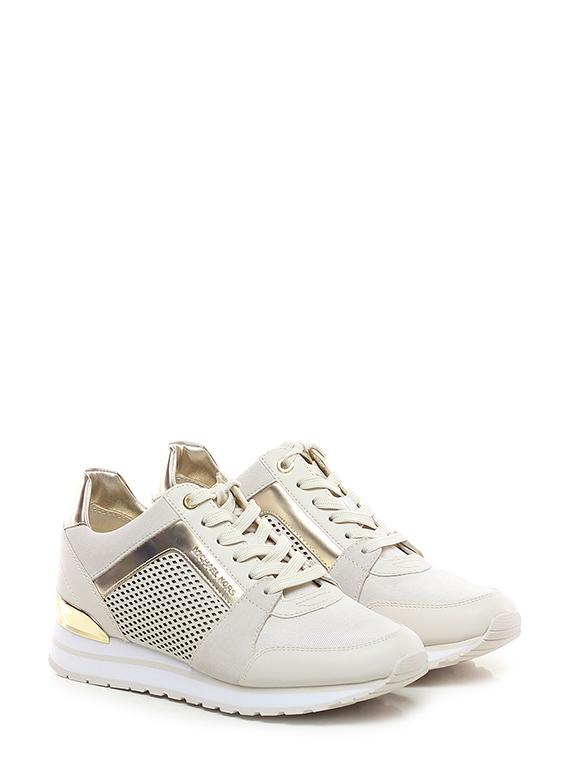 85c596e53 Sneaker Cream/gold Michael Kors - Le Follie Shop