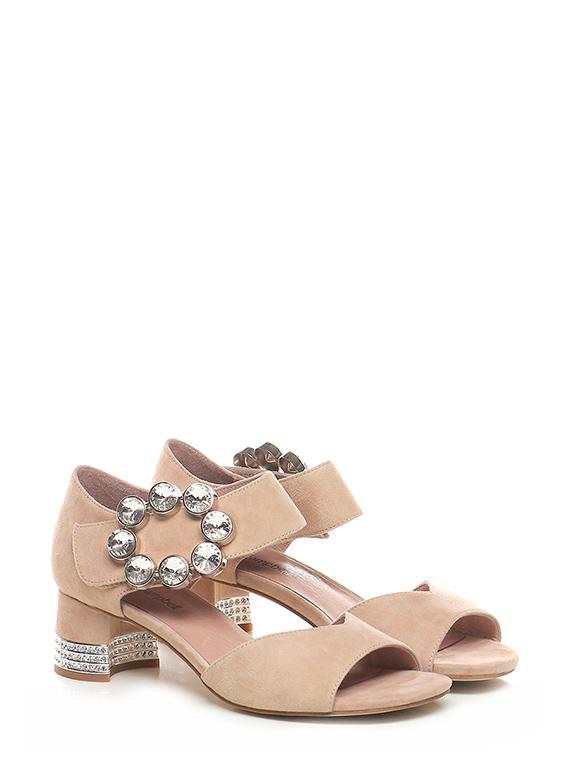 Sandalo alto Nude Jeffrey Campbell Le Follie Shop