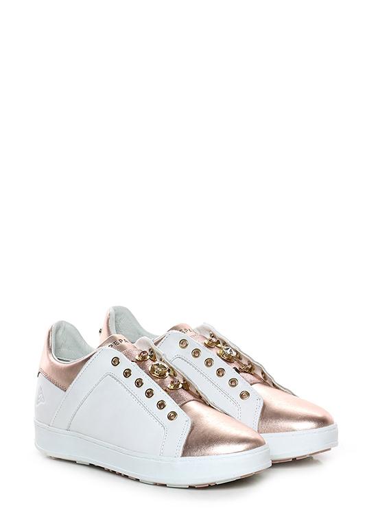 scarpe di separazione 9d3d3 24dc3 Sneaker Bianco/rame Apepazza - Le Follie Shop