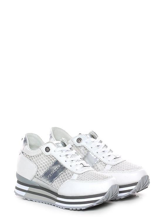 Sneaker Bianco argento Apepazza - Le Follie Shop b6761434e4f
