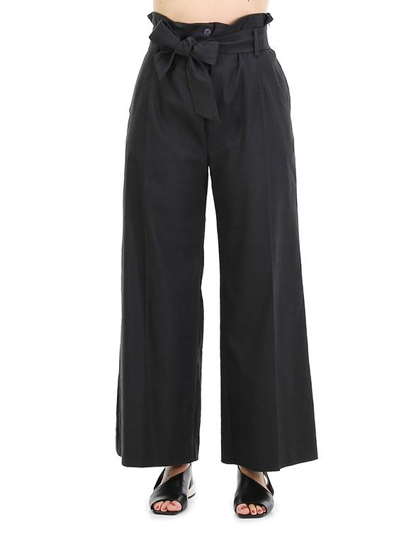 newest fbbee 110e3 Pantalone Nero Malloni - Le Follie Shop