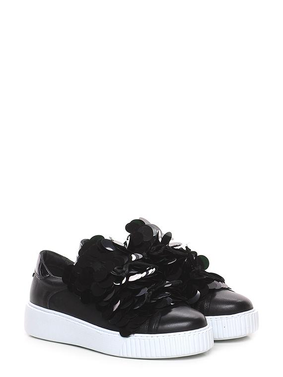 on sale eb779 66079 Sneaker Nero Tosca Blu Shoes - Le Follie Shop