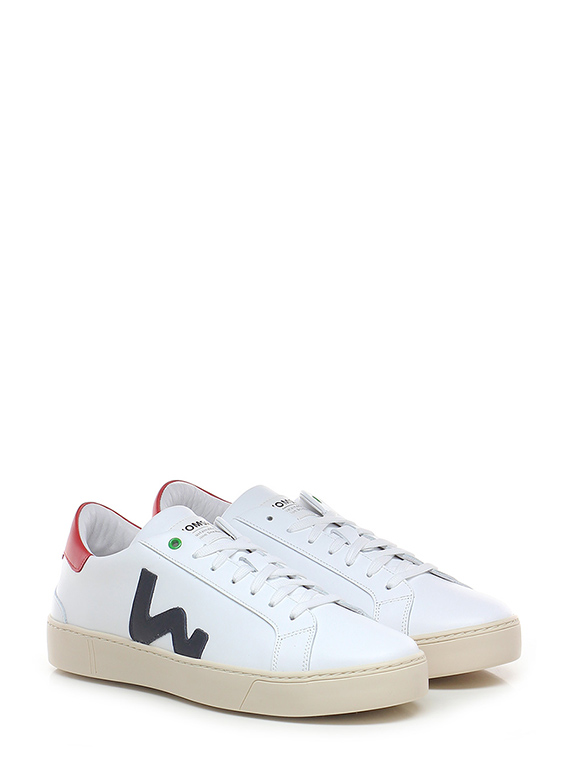 Sneaker Whiteblue Womsh Le Follie Shop